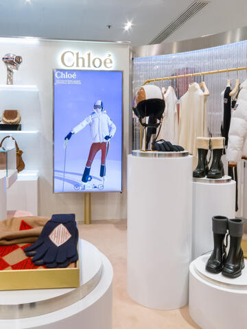 Chloé experience at Printemps - 2